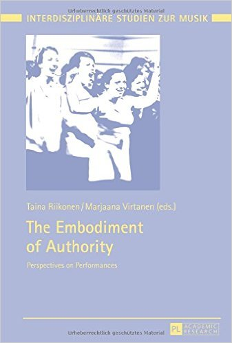 "Book cover ""embodiment of authority"""
